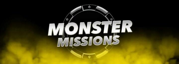 Миссия Monster Missions в руме Party poker